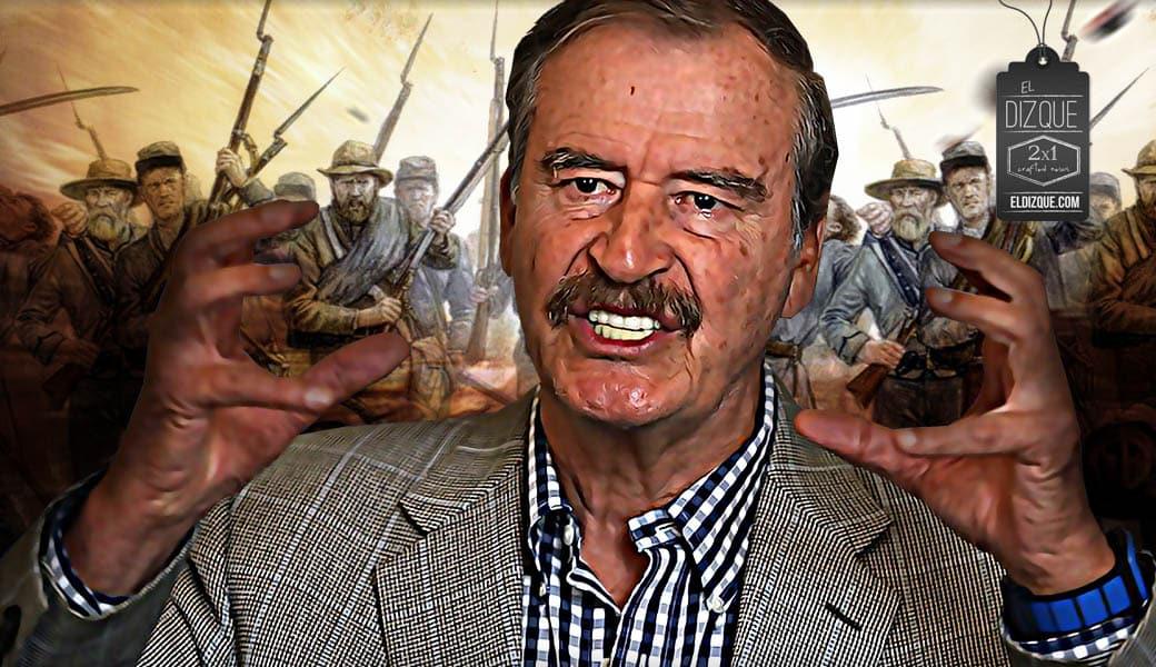 Amenaza Vicente Fox con levantarse en armas contra AMLO 1