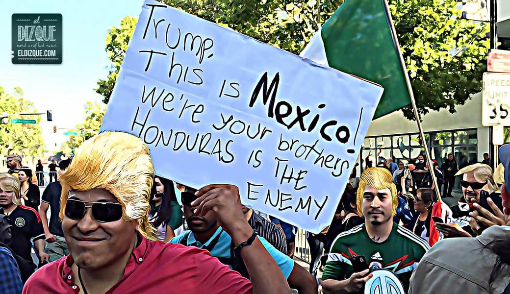 Surge nueva moda en México: Pelucas de Donald Trump 3