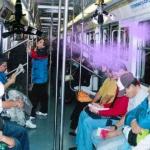 Metro de la Ciudad de México anuncia un servicio de aspersor de perfume 3