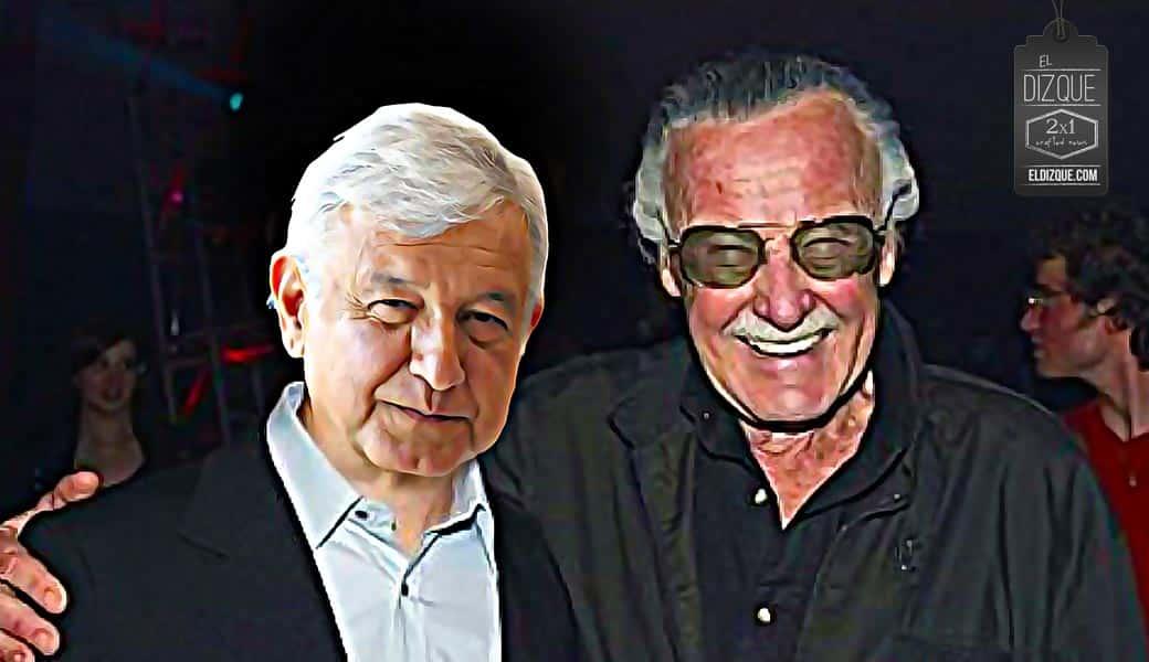Las últimas palabras de Stan Lee fueron dedicadas a Andrés Manuel López Obrador 4