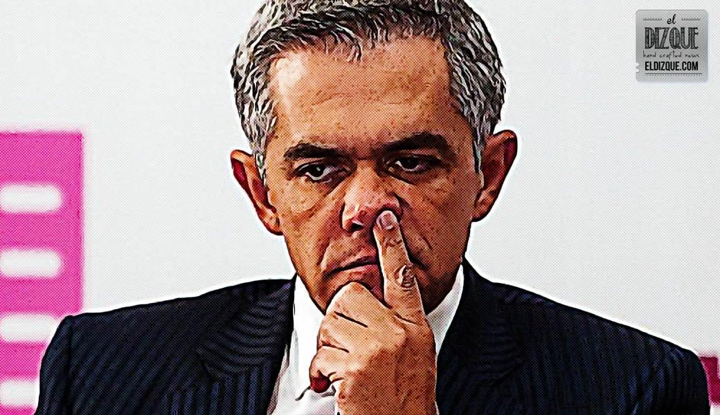 Ciudadanos piden que regrese Miguel Ángel Mancera al gobierno del DF 1