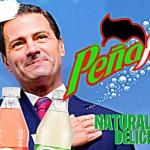Enrique Peña Nieto será el nuevo rostro de los refrescos Peñafiel 14