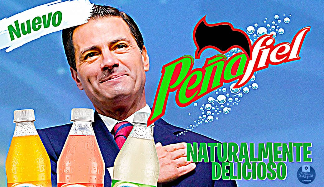 Enrique Peña Nieto será el nuevo rostro de los refrescos Peñafiel 1
