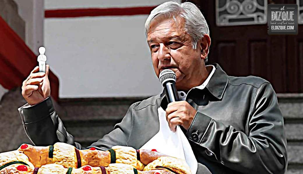 Por austeridad republicana, las roscas de Reyes sólo podrán llevar un muñequito 4