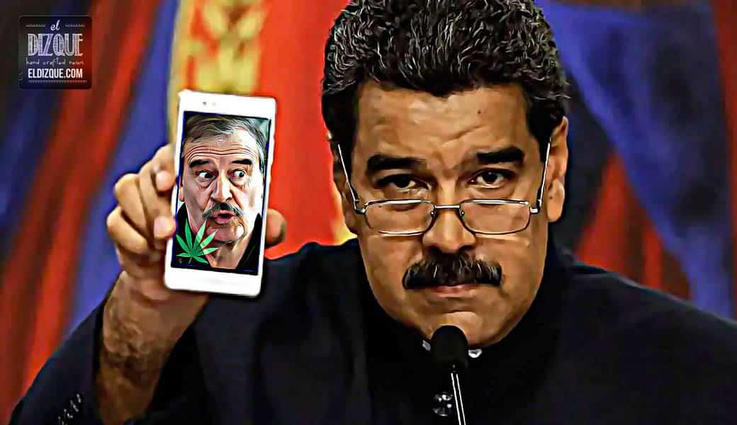 Nicolás Maduro anuncia que Venezuela rompe relaciones con Vicente Fox 1