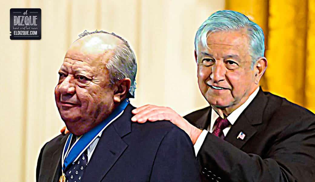 """Carlos Romero Deschamps recibirá de AMLO la medalla """"Honestidad Valiente"""" 1"""