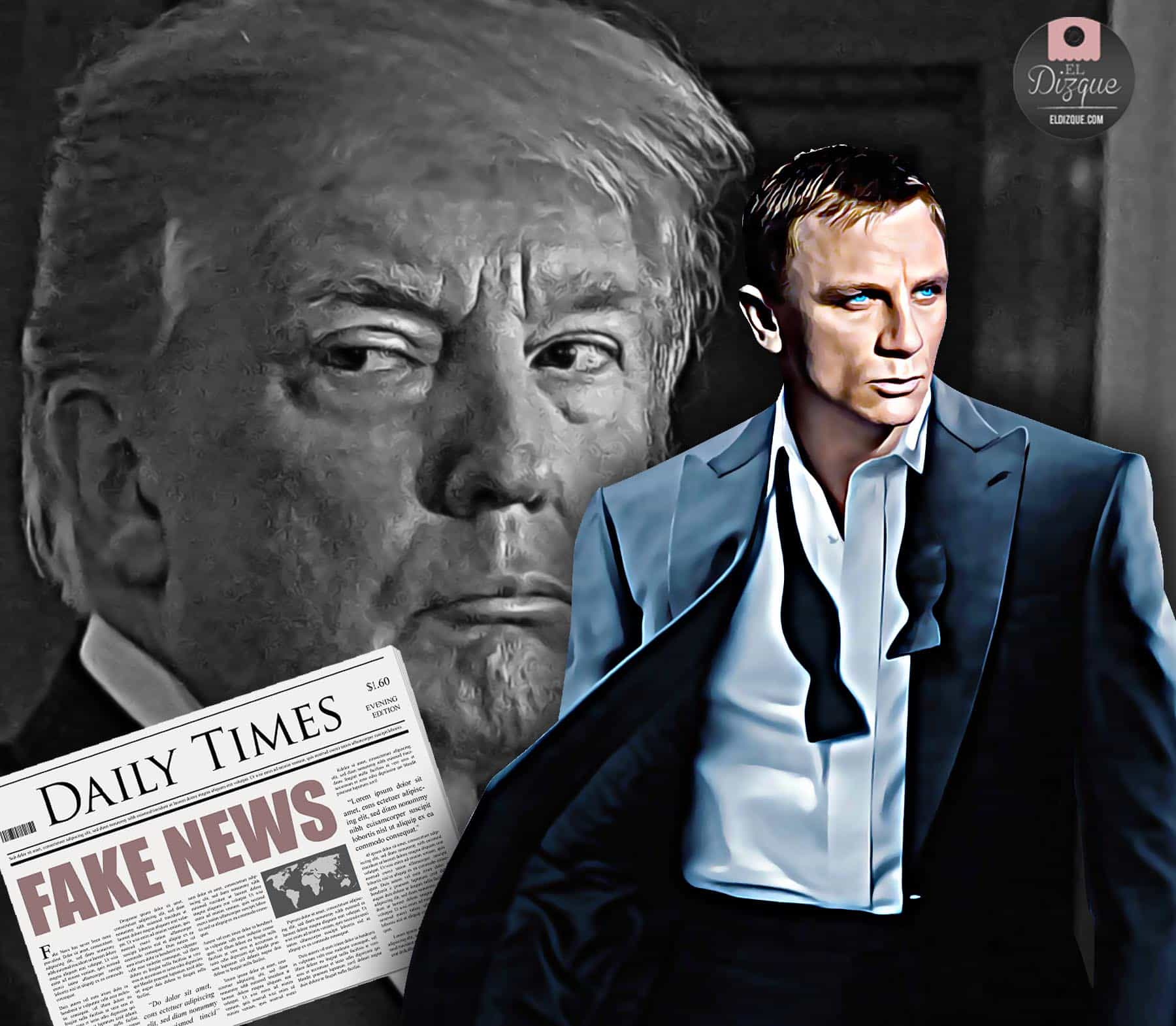 Donald Trump será un villano en la próxima cinta de James Bond