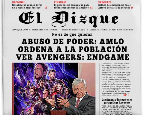 Abuso de poder: AMLO ordena a la población ver Avengers: Endgame