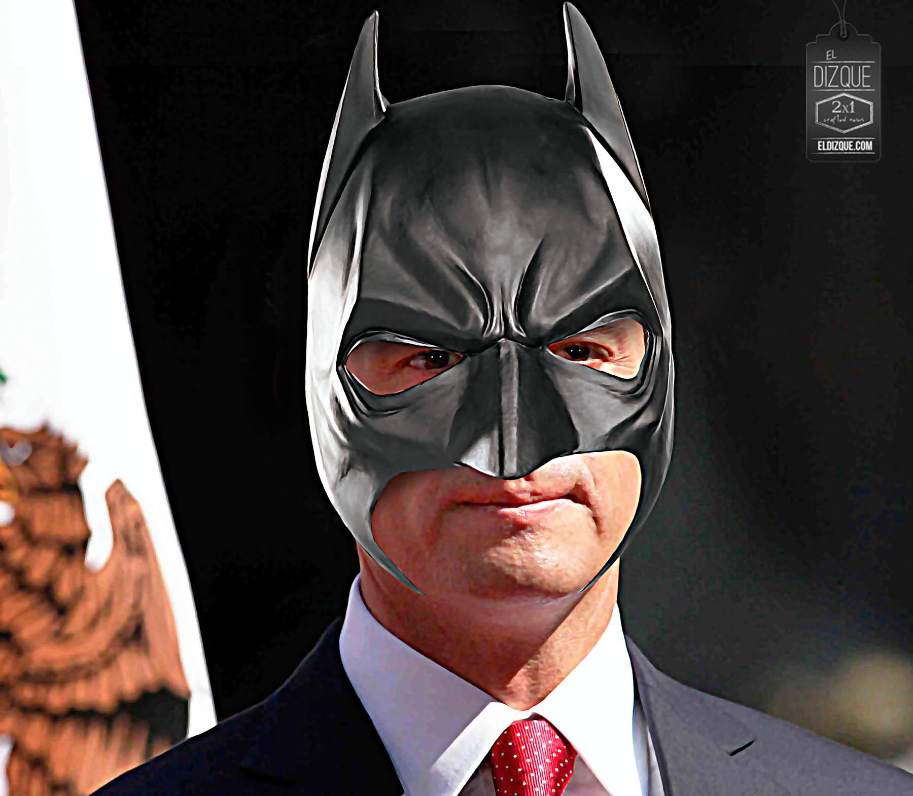 Peña Nieto audicionará para ser el nuevo Batman en el cine