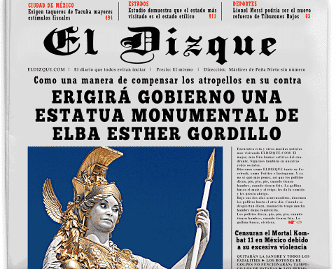 Erigirá gobierno una estatua monumental de Elba Esther Gordillo