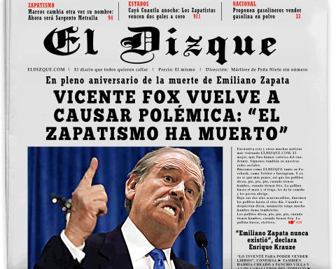 """Vicente Fox vuelve a causar polémica: """"¡El zapatismo ha muerto!"""" 2"""