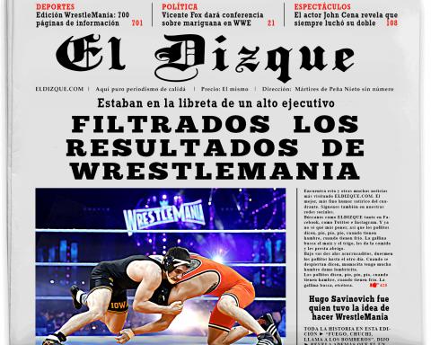 Filtran resultados de WrestleMania