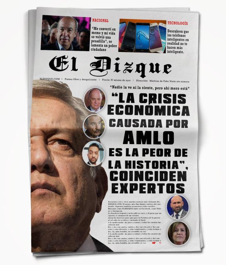 """""""Aunque no la veamos, la crisis económica causada por AMLO es la peor de la historia"""": expertos"""