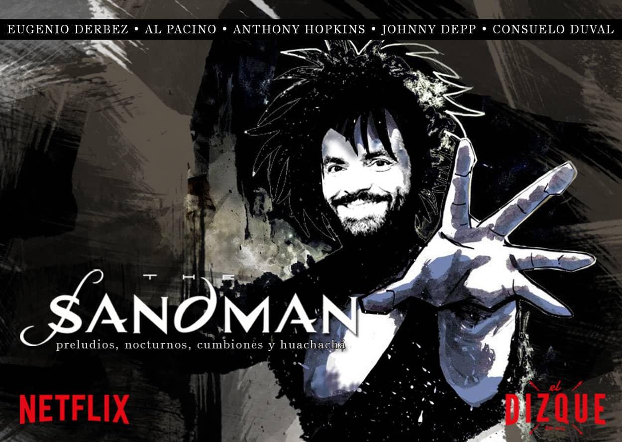 Eugenio Derbéz será Sandman en la nueva serie de Netflix