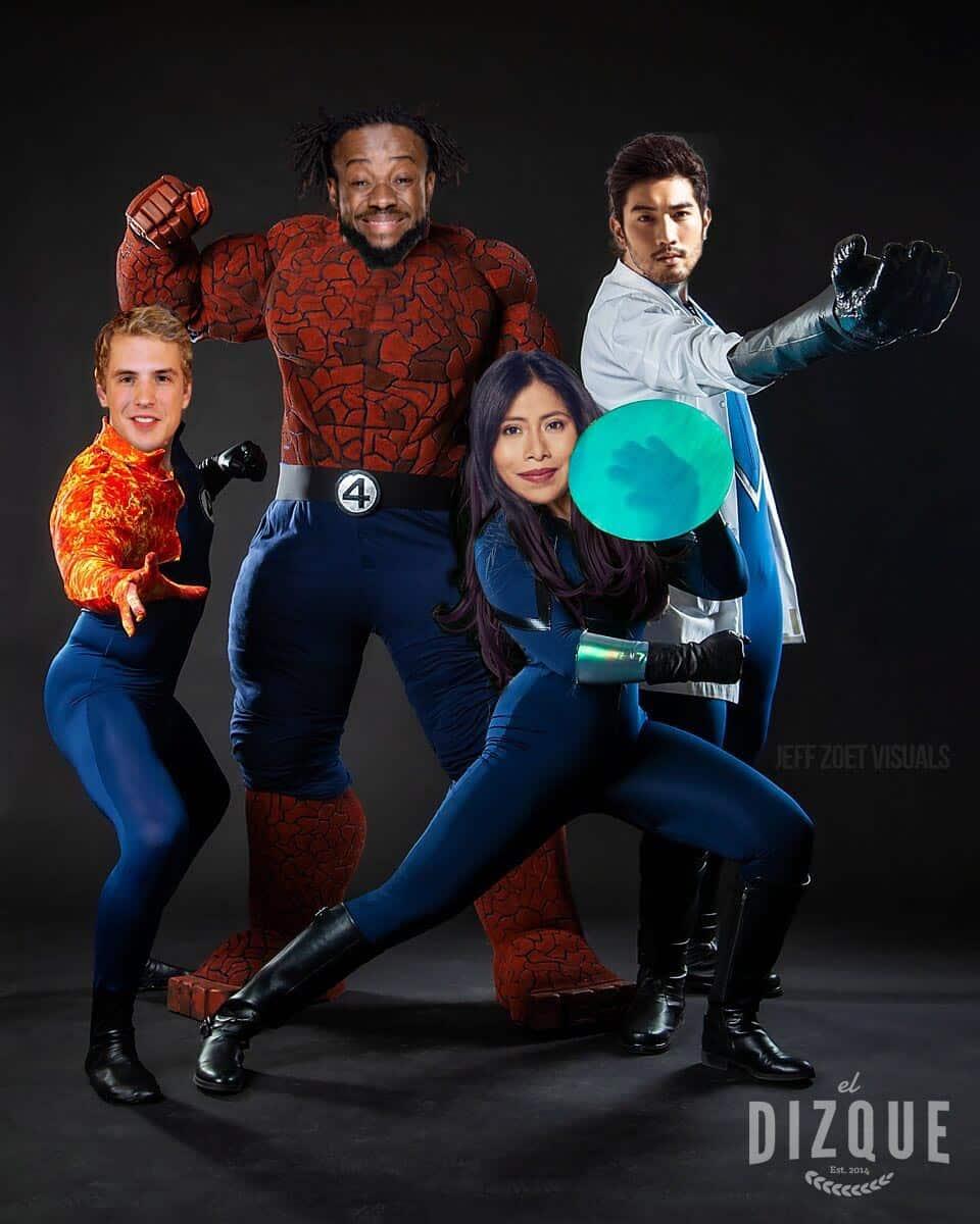 Yalitza Aparicio se integra al Universo Marvel: Será la Mujer Invisible 1