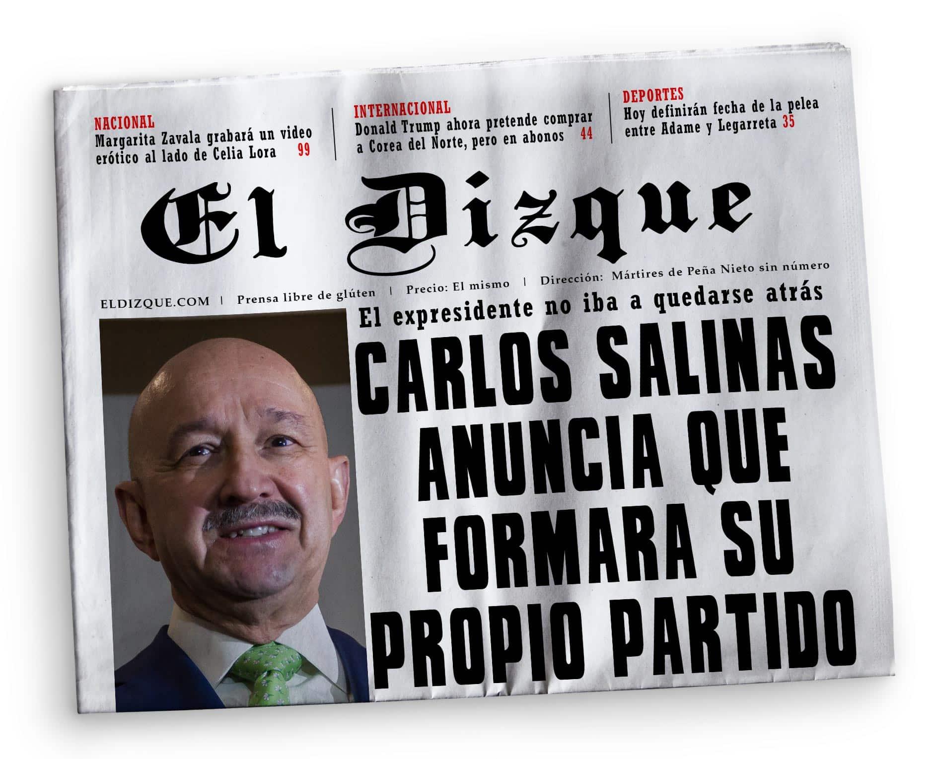 Partido de Carlos Salinas de Gortari