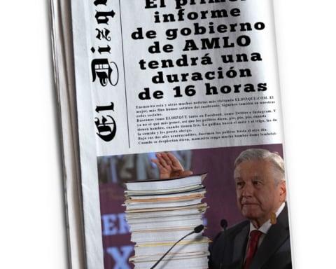 Primer Informe AMLO