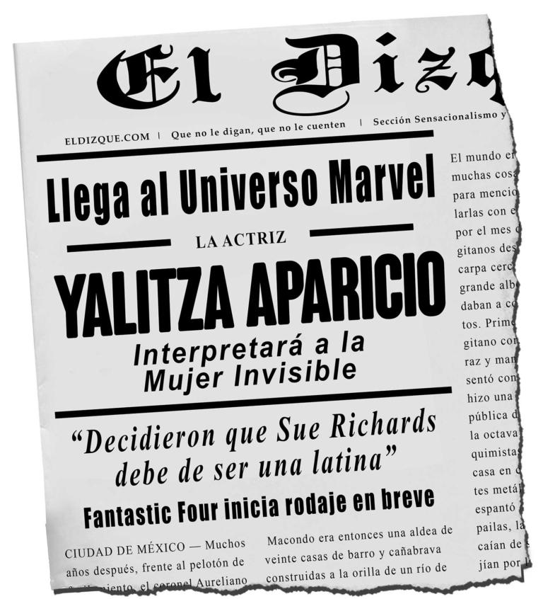 Yalitza Aparicio en Marvel