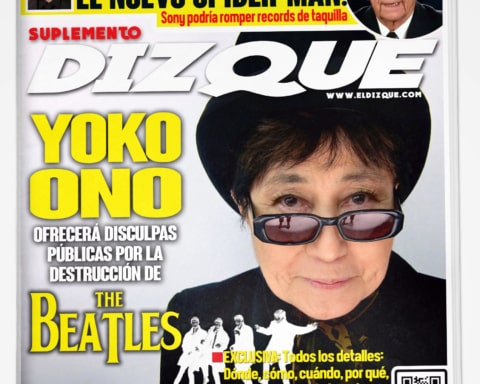 Yoko Ono National Enquirer