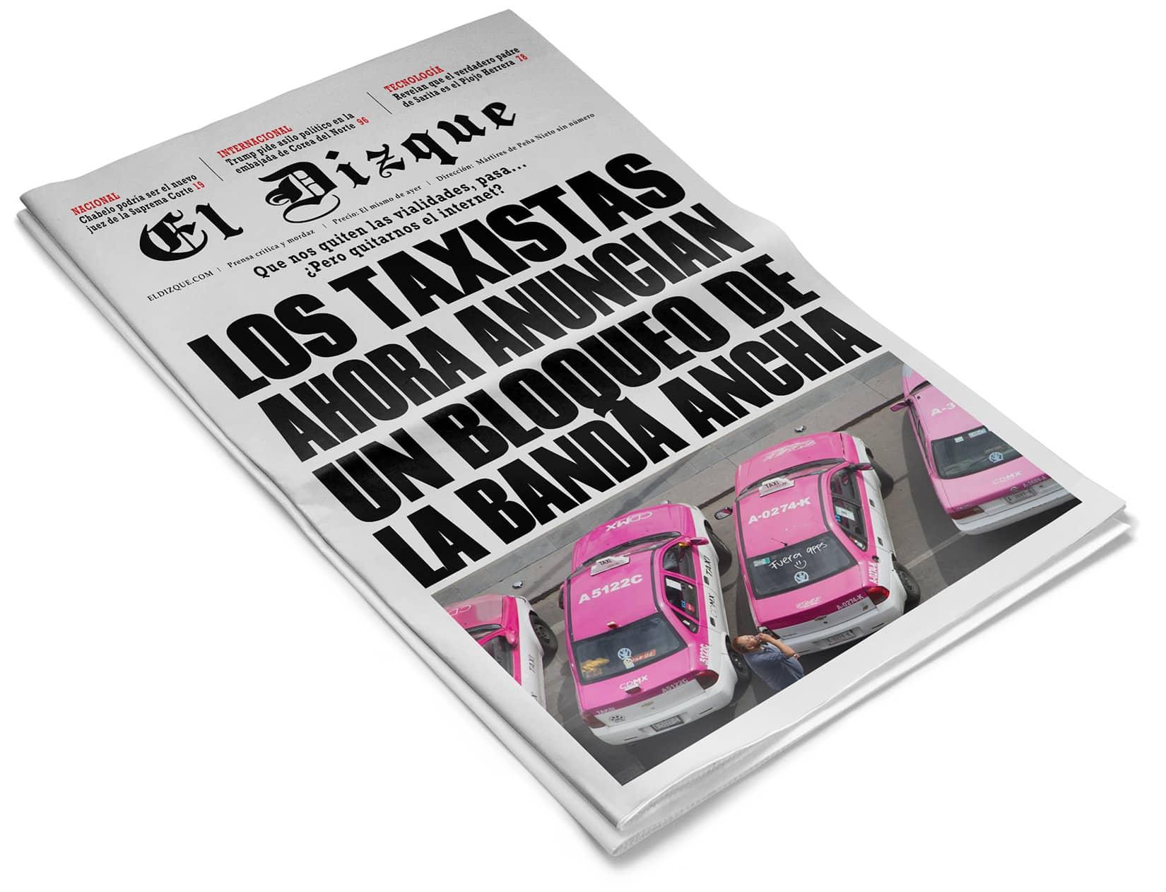 Bloqueo de taxistas