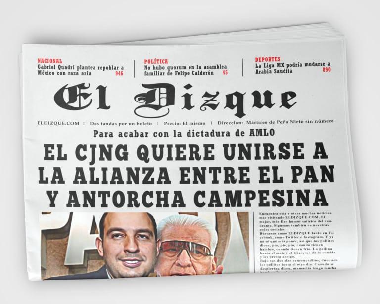 CJNG PAN Antorcha Campesina