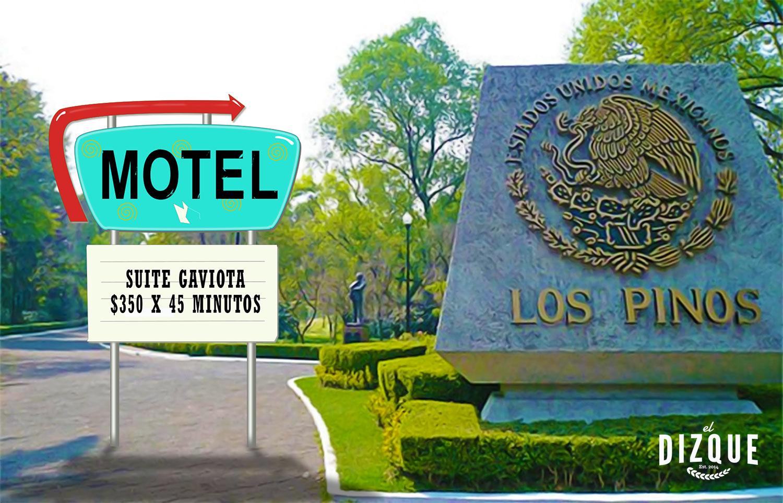 Gobierno convertirá a Los Pinos en un hotel de paso