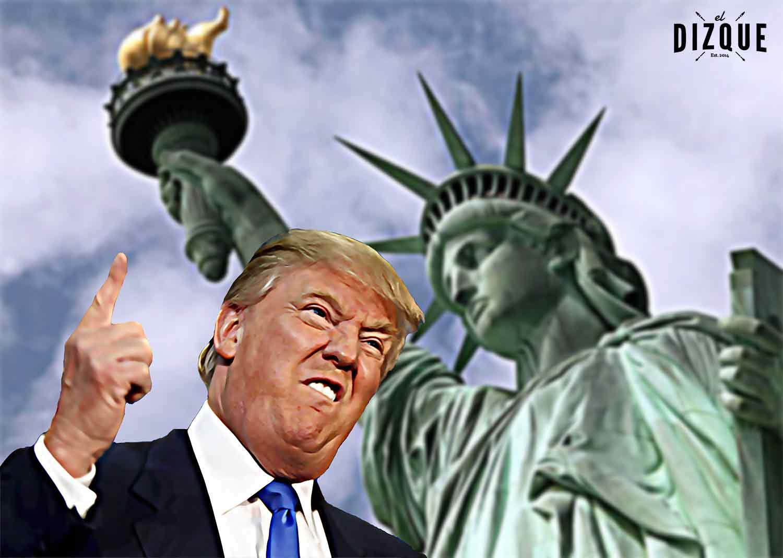Trump no se dejará ganar