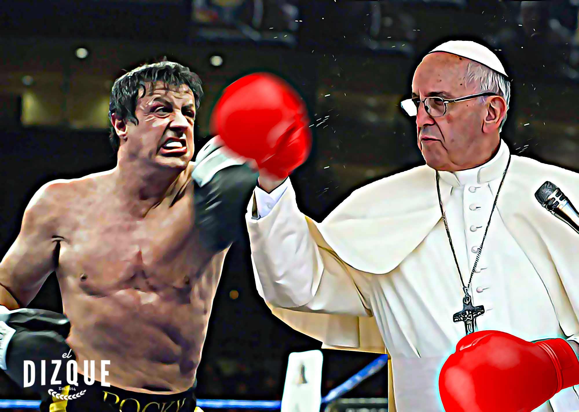 El papa Francisco en Rocky