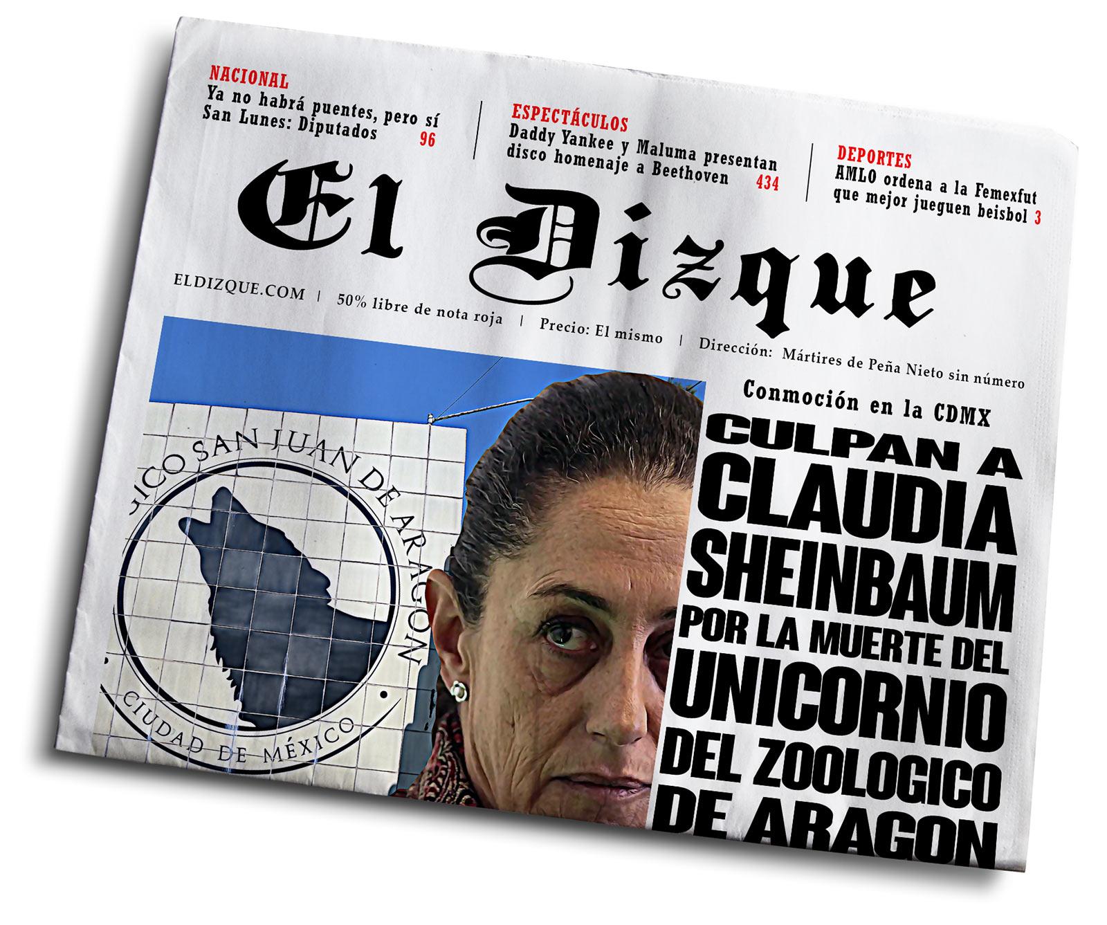 Ciudadanos culpan a Claudia Sheinbaum