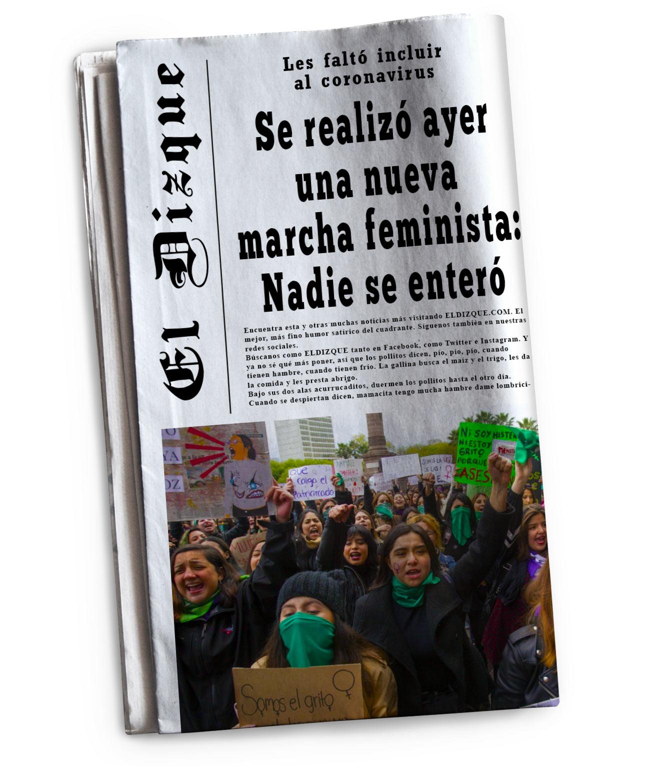 Nueva marcha feminista