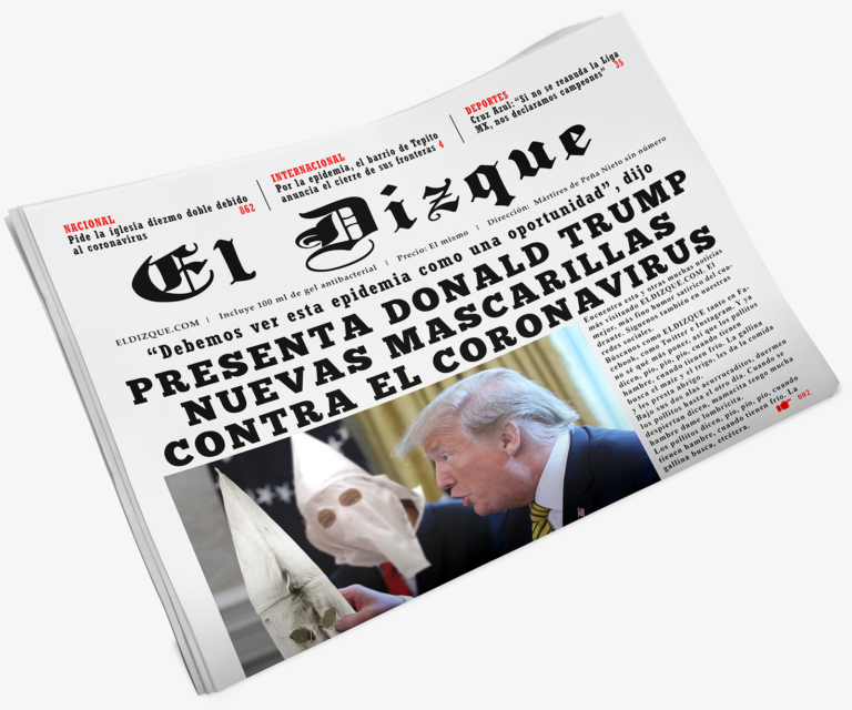 Las nuevas mascarillas contra el coronavirus de Donald Trump