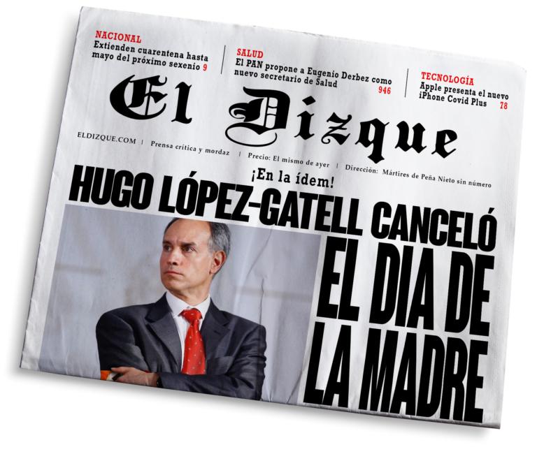 Pánico masivo: Hugo López-Gatell canceló el Día de la Madre
