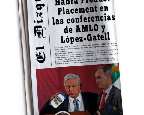 Habrá Product Placement en las conferencias de AMLO y López-Gatell 1