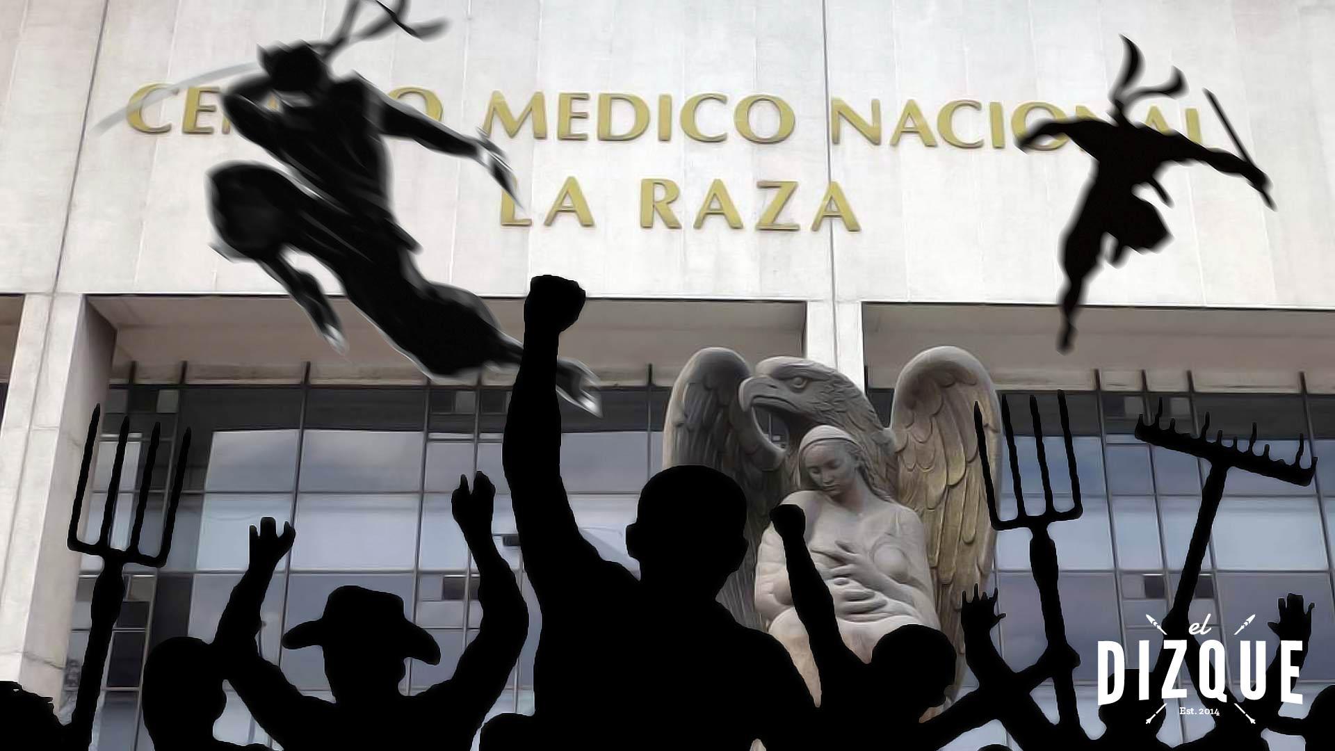 La Secretaría de Salud anuncia que contratará ninjas para cuidar los hospitales