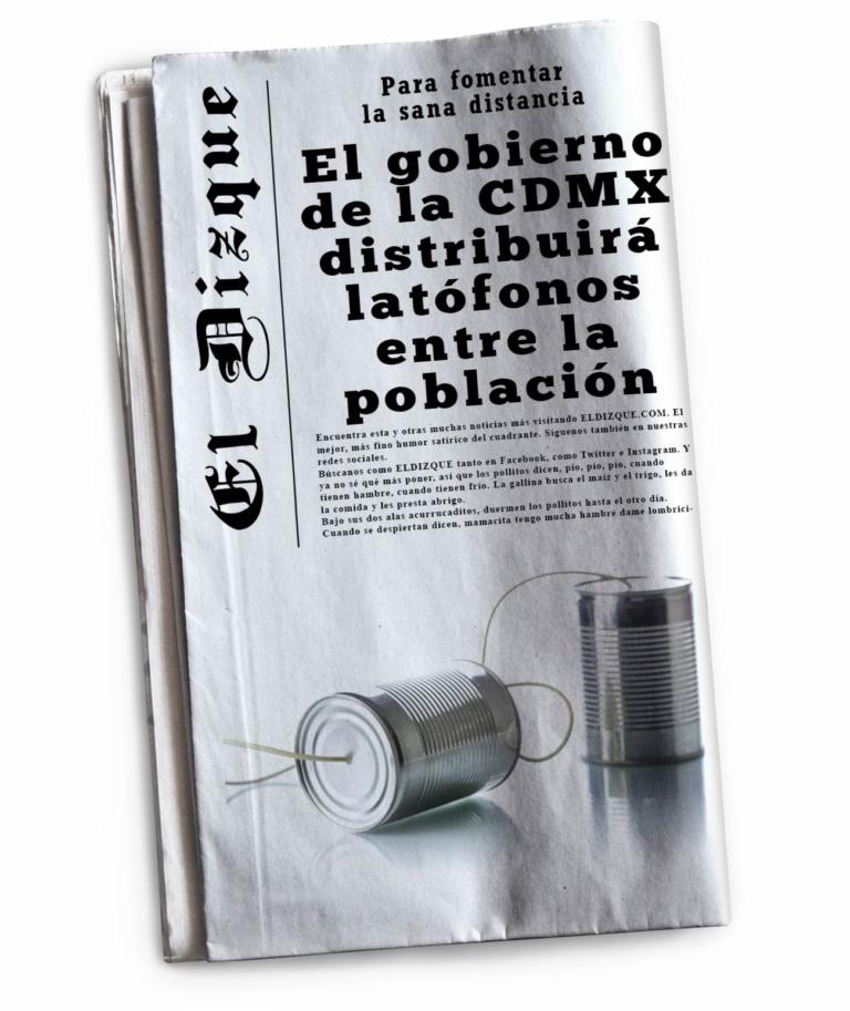 El Gobierno de la CDMX distribuirá latófonos