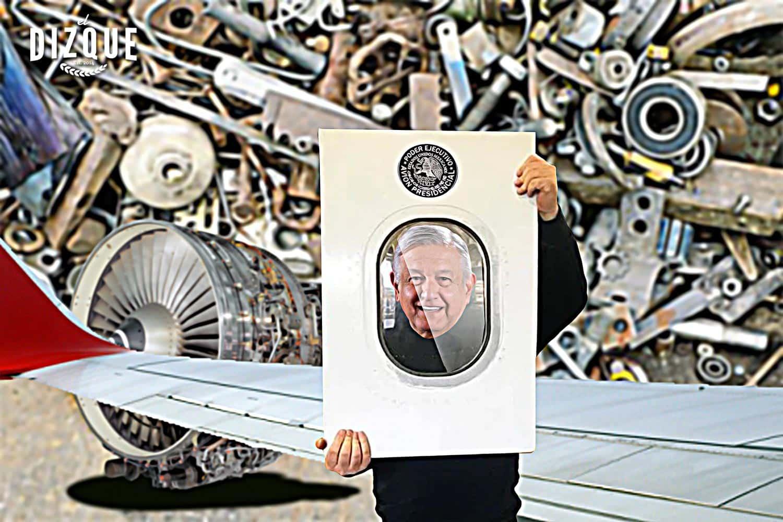 Pondrán a la venta cachitos del avión presidencial