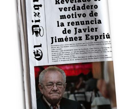 El verdadero motivo de la renuncia de Javier Jiménez Espriú