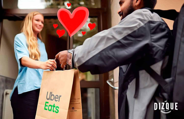 Mujer contraerá matrimonio con el chofer de Uber Eats que la atendió toda la pandemia