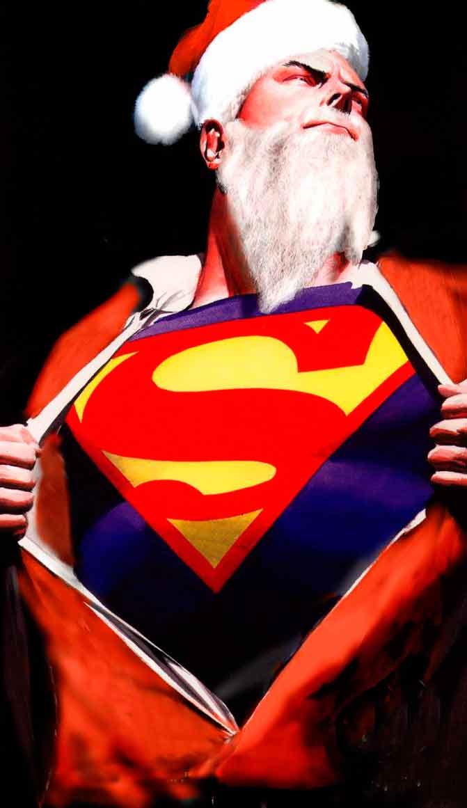 Santa Claus Superman