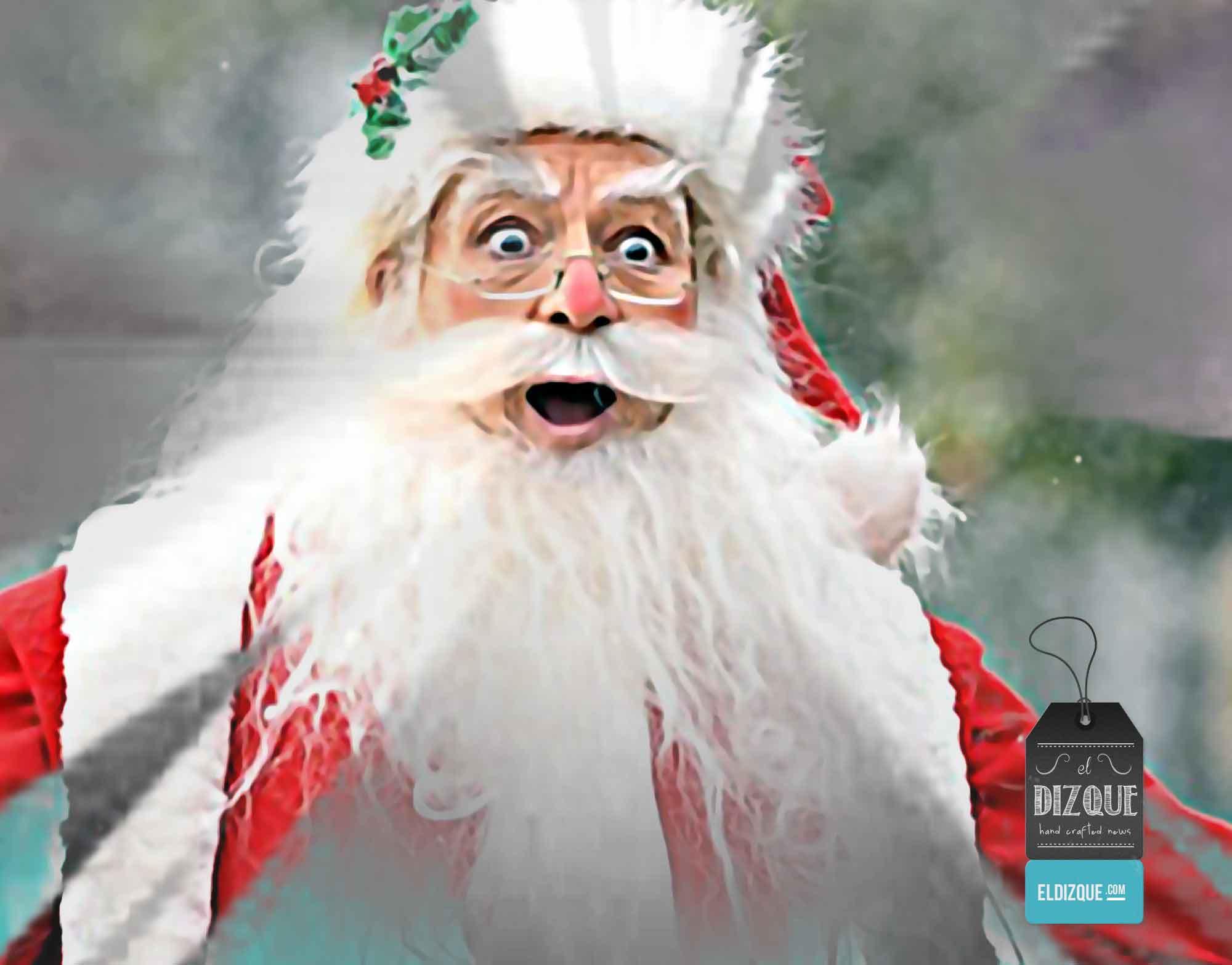 Santa Claus impactado