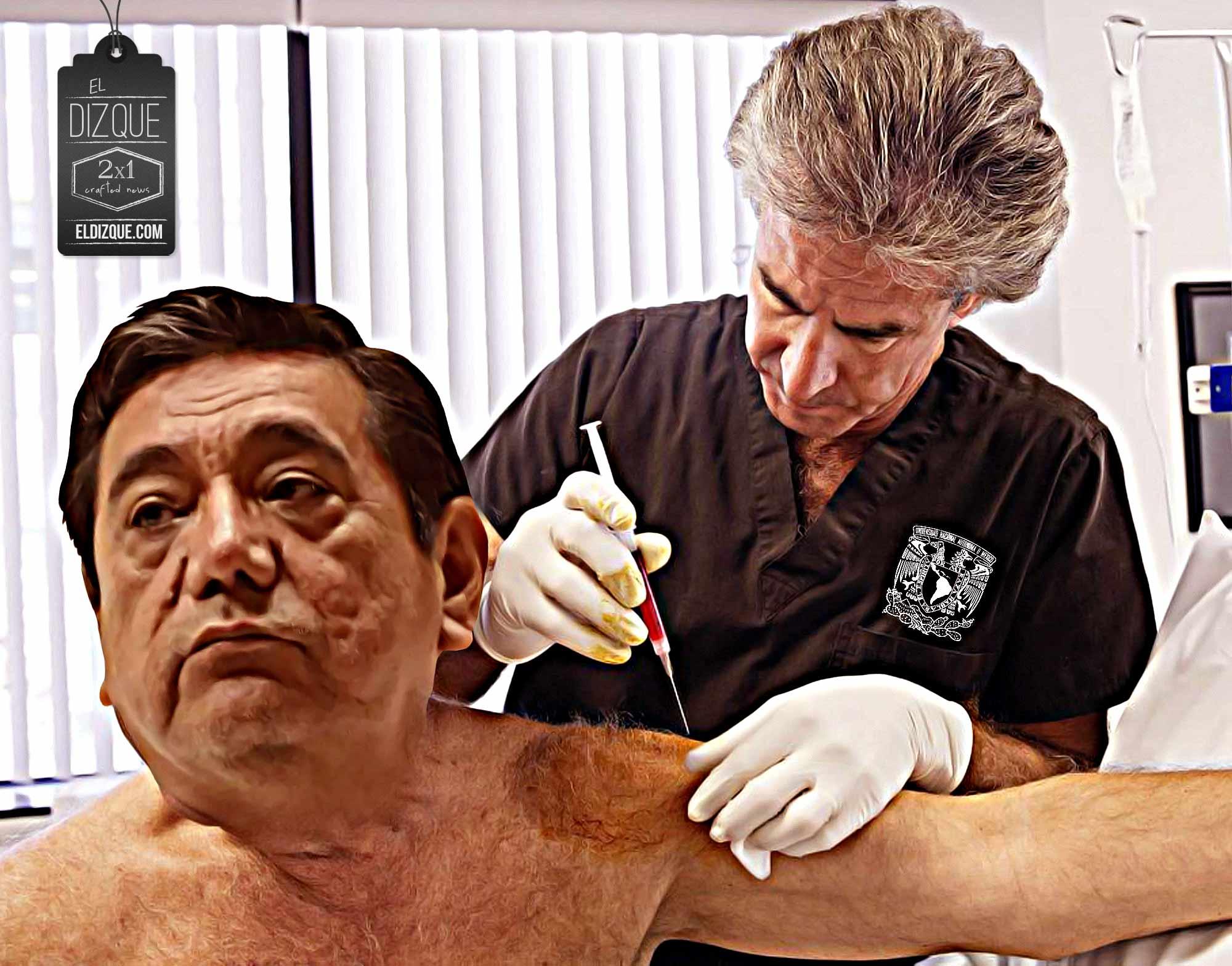 Felix Salgado Macedonio Vacuna