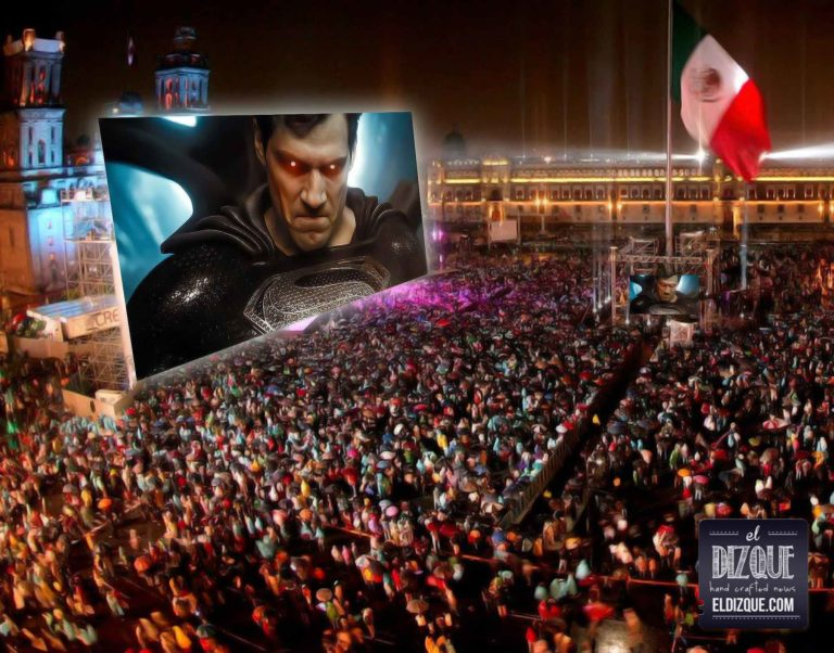 Justice League en el Zocalo
