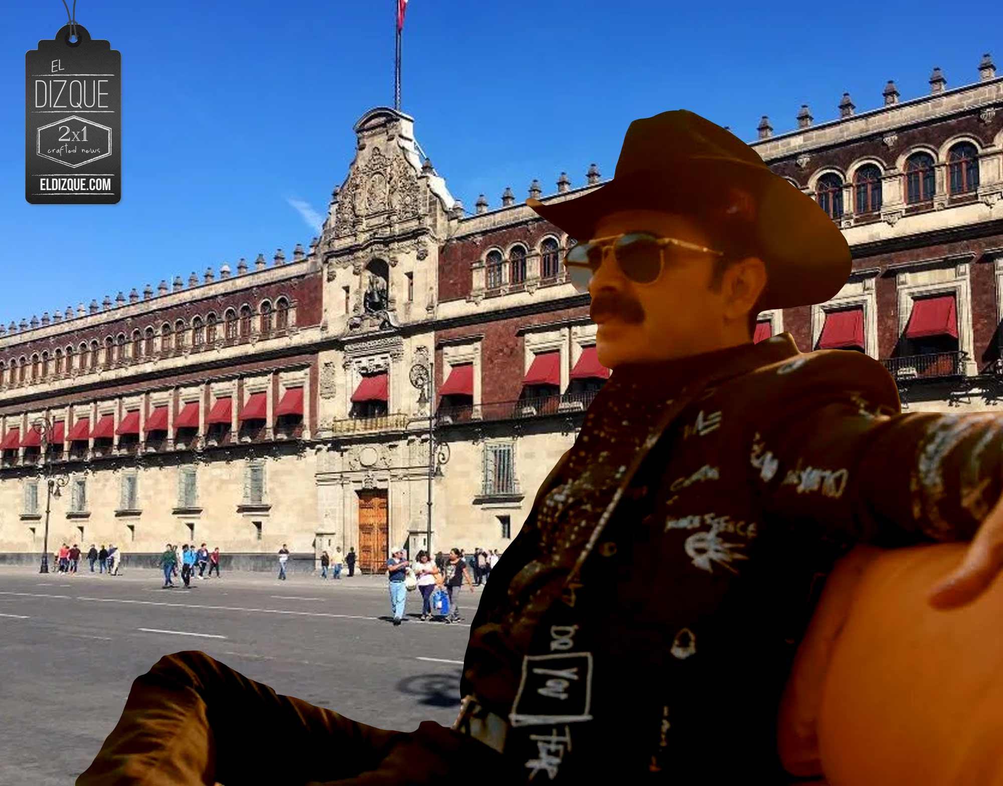 Polleros Palacio Nacional