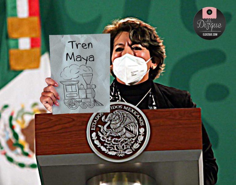 Delfina Gómez Tren Maya