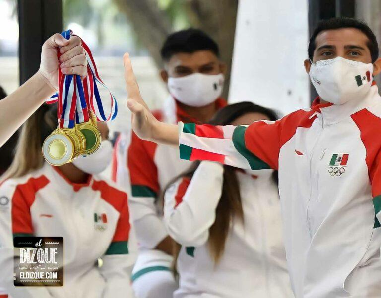 Medallas atletas mexicanos