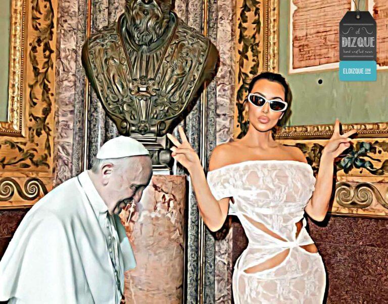 Papa Francisco Kim Kardashian