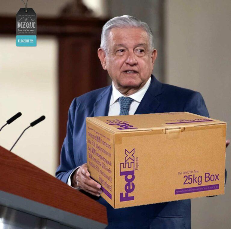 AMLO paquetería